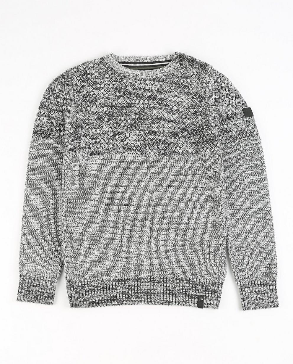 Pullover aus Biobaumwolle - in Grau, I AM - JBC